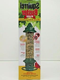 Brome 1024 Squirrel Buster Plus Wild Bird Feeder with Cardin