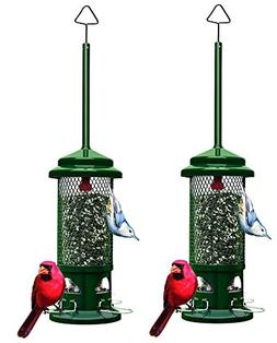 Brome 2 Pack 1057 Squirrel Buster Standard Wild Bird Feeder