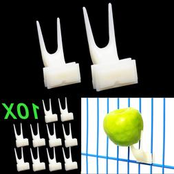 10Pcs/Lot Fruit Fork <font><b>Bird</b></font> <font><b>Feede