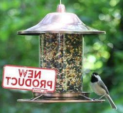 2 Lb Bird Feeder Garden Fowl Seed Food Feed Dispenser Birdfe
