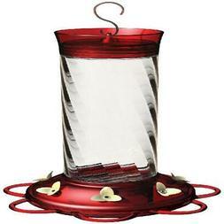 More Birds 37 Diamond Hummingbird Feeder glass nectar bottle