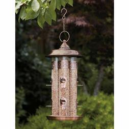 4 Tube Bird Feeder with 8 Feeding Stations