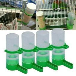 4Pcs Plastic Bird Water Feeder Automatic Parrot Water Feedin