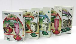 Gadjit 5 Soda Bottle Wild Bird Feeders Gift Set - Great Gift