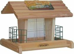 Heath Outdoor Products 655 Wood Suet/Seed Feeder