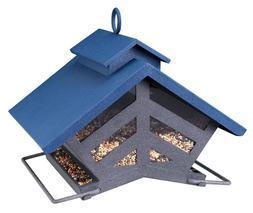 Audubon 74240 Chalet Metal Hopper Bird Feeder Outdoor Decor