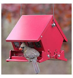 Woodlink 7458 Absolute II Squirrel Proof Hopper Bird Feeder,