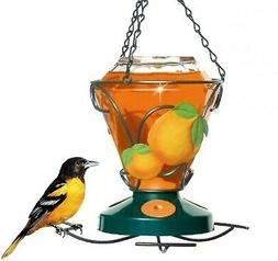 Perky-Pet 750 Deluxe Hand Painted Oriole Feeder, 24-Ounce Ca