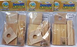 Creative Hobbies Wooden Model Kit Bird House