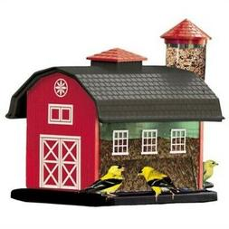Audubon Red Barn Combo Seed Bird Feeder Model 6290