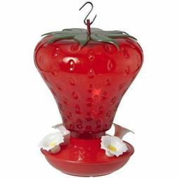 AUDUBON NA5540 991010 40 oz Cap Strawberry Hummingbird Feede