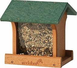 New Audubon Woodlink Tan/green Going Green Ranch Bird Feeder