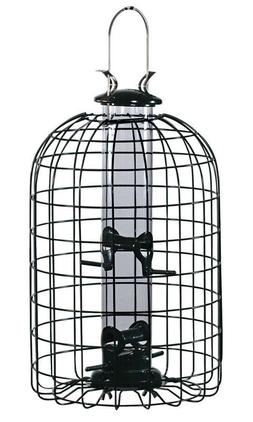 Audubon Wild Bird 2 lb. Wire/Plastic Caged Tube Seed Feeder