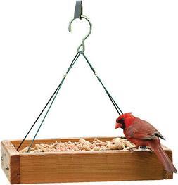 audubon woodlink hanging platform tray bird feeder
