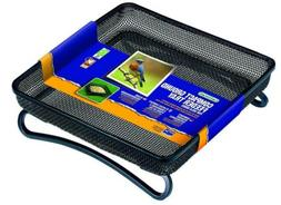 "Gardman BA01305 Compact Ground Bird Feeder Tray, Black, 7"" L"