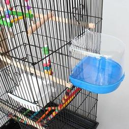 Bird Bath Playing Water Cleaning Bird Small Bowl Cage Feed A