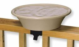 Allied Precision 14 in. Bird Bath with Deck-Pole - Heated