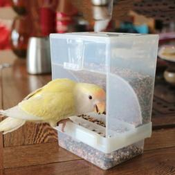 Proof Bird Poultry Feeder Automatic Acrylic Food Container P
