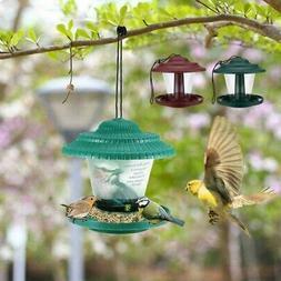 Bird Feeder Garden 18*18*19cm Accessories Outdoor Decors Pla