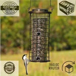 Bird Feeder Squirrel Stumper, Proof Wild Yard 3 Lb Seed Outd