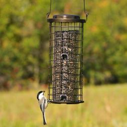 Bird Feeder Squirrel Stumper Wild Holds 3 Lbs. of Seed Durab