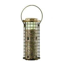 bird feeder squirrel stumper wild holds 3