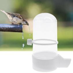 Bird Feeder Water Drinker Budgie Canary Finch Food Dispenser