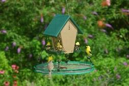 Songbird Essentials Bird Seed Catcher Platform Bird Feeder S