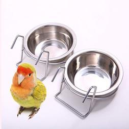 birdcage bird feeder birds food