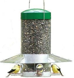 Birds Choice - Hanging 12 inch Classic Bird Feeder with Baff