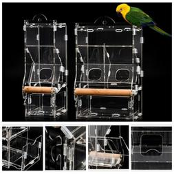 Birds Parrots Feeder No Mess Automatic for Cage Indoor/Outdo
