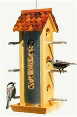 Birdscapes 50171 Tin Jay Feeder, 2 lb capacity
