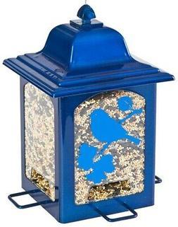 Perky-Pet Blue Sparkle Lantern Wild Bird Feeder