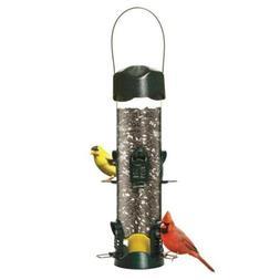 BROME Mega 600 Garden Green Metal Tube Premium Bird Feeder w