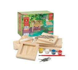 Building Kits for Kids Bird Feeder DIY Family Activity Wood
