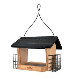 Nature's Way Bird Products BWF19 Bamboo Hopper Bird Feeder w