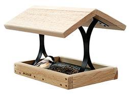 Woodlink Cedar Fly-Thru Bird Feeder, Cedar