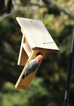 Kettle Moraine The Clinger Woodpecker Wild Bird Feeder Peanu