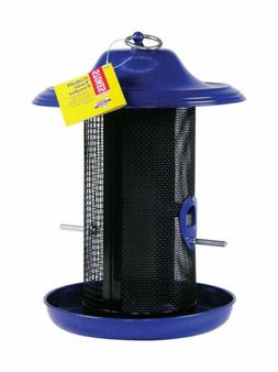 Stokes Select Cobalt Double Chamber Mesh Screen Bird Feeder