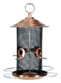 Copper Mixed Seed Bird Feeder