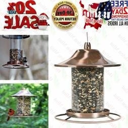 Wild Bird Feeder Hangingn Outdoor Garden Backyard Seed Food