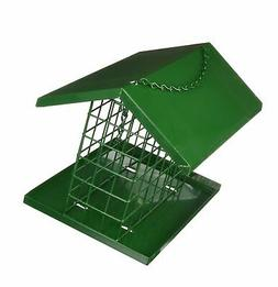 C & S Products Easy Fill Deluxe Snak/Suet Feeder with Roof a