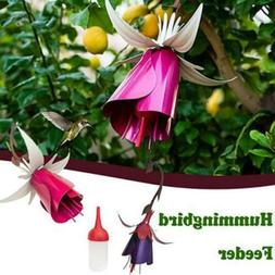 Garden Accessories Outdoor Hummingbird Feeder Bird Feeders F