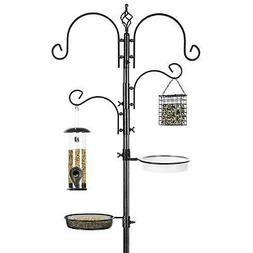 BCP 91-Inch Deluxe Bird Feeding Station, Multi-Feeder Kit w/