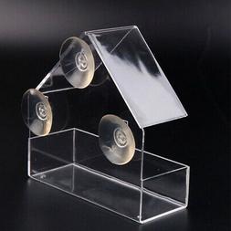 glass outdoor bird feeder