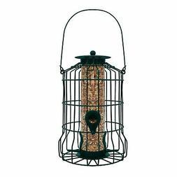 GrayBunny GB-6860 Caged Tube Feeder Squirrel Proof Wild Bird