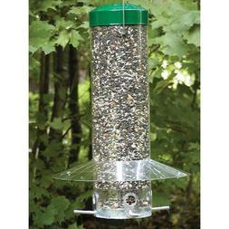 Birds Choice Hanging Bird Feeder With Baffle/Weather Guard
