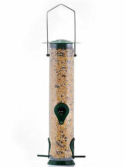Hanging Bird Wild Feeder Seed Steel Hanger Outdoor Garden Fo