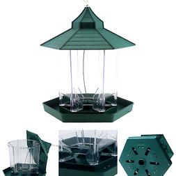 Ogrmar Hanging Gazebo Wild Bird Feeder -Perfect for Garden D