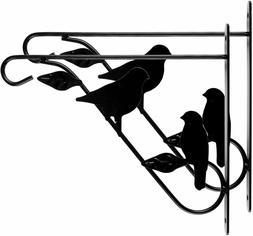 Hanging Plants Bracket 11'' Wall Planter Hook Bird Feeder Wi